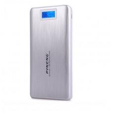 Внешний аккумулятор [Pineng] Power Bank 20000 mAh PN-999S, silver, ОРИГИНАЛ