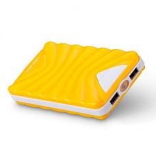 Внешний аккумулятор [Momax] Power Bank 13200 mAh iPower Turbo C, yellow