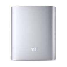 Внешний аккумулятор [Xiaomi] Power Bank 10400 mAh, silver, ORIGINAL