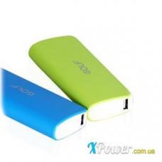 Внешний аккумулятор [GOLF] Power Bank GF-027 10000 mAh, green