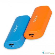 Внешний аккумулятор [GOLF] Power Bank GF-210 5200 mAh, orange