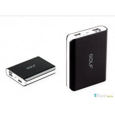 Внешний аккумулятор [GOLF] Power Bank GF-804 10400 mAh, black