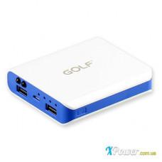 Внешний аккумулятор [GOLF] Power Bank GF-803 7800 mAh, white