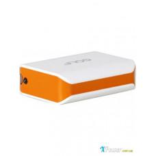 Внешний аккумулятор [GOLF] Power Bank GF-206 5200 mAh, whiteorange