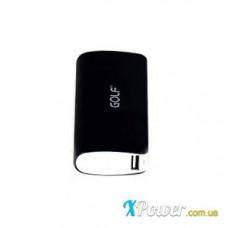 Внешний аккумулятор [GOLF] Power Bank GF-027 10000 mAh, black