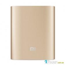 Внешний аккумулятор [Xiaomi] Power Bank 10400 mAh, gold, ORIGINAL