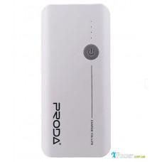 Внешний аккумулятор [Remax] Power Bank 20000 Proda V10, white