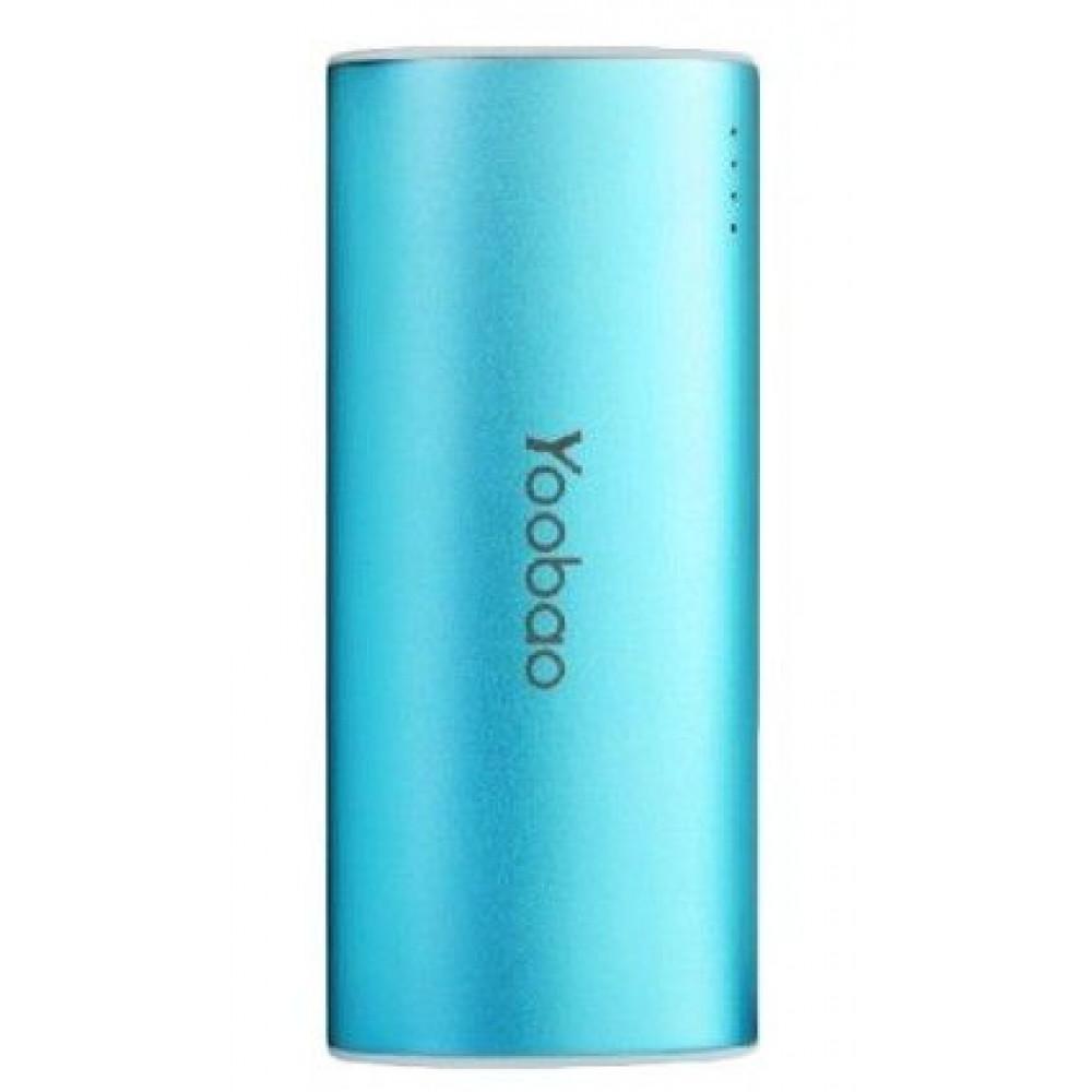 Внешний аккумулятор [Yoobao] Power Bank 5200 mAh Magic Wand YB-6012, blue