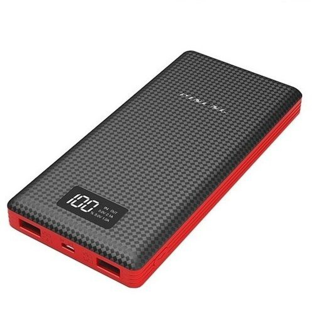 Внешний аккумулятор [Pineng] Power Bank 20000 mAh PN-969, black