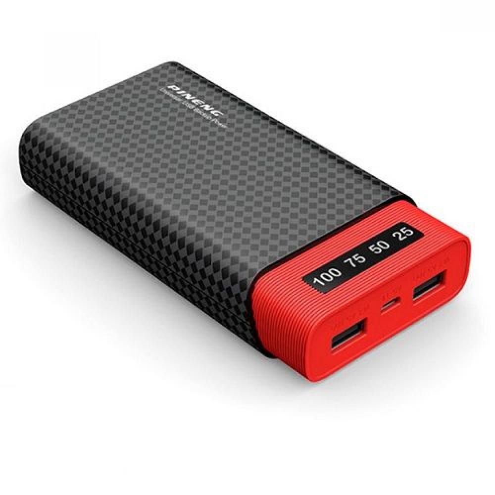 Внешний аккумулятор [Pineng] Power Bank 20000 mAh PN-982, black