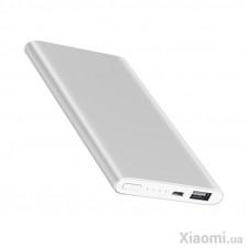 Внешний аккумулятор [Xiaomi] Mi Power Bank 2 Slim, 5000 mAh, silver, ORIGINAL